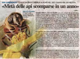 moria delle api
