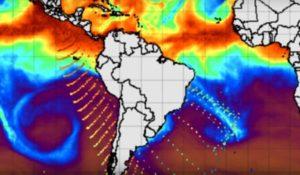 Energia antartide  verso sud america